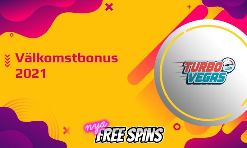 Ny bonus från TurboVegas Casino July 2021