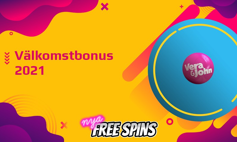 Ny bonus från Vera and John Casino August 2021, 200 Free spins