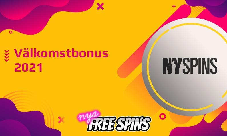 Senaste bonus från NYSpins Casino July 2021